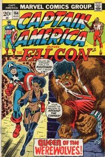 Captain America (1968 1st Series) #164 1st app. Nightshade