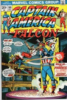 Captain America (1968 1st Series) #168 1st app. Baron Helmut Zemo