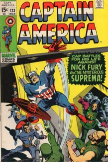 Captain America (1968 1st Series) #123