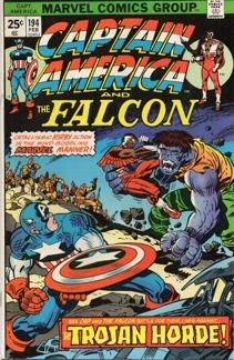 Captain America (1968 1st Series) #194