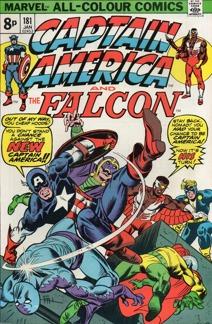 Captain America (1968 1st Series) #181