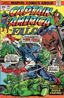 Captain America (1968 1st Series) #185
