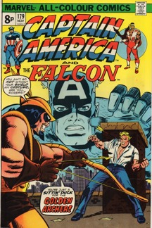 Captain America (1968 1st Series) #179