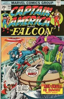 Captain America (1968 1st Series) #184