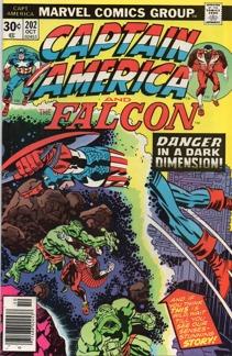 Captain America (1968 1st Series) #202