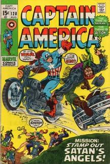 Captain America (1968 1st Series) #128