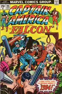 Captain America (1968 1st Series) #195