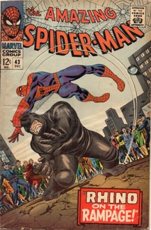 Amazing Spider-Man (1963 1st Series) #043