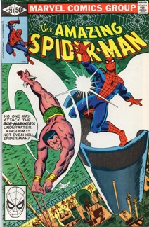 Amazing Spider-Man (1963 1st Series) #211