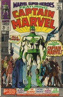 Marvel Super Heroes (1967 1st Series) #12 (1st appearance of Captain Marvel)