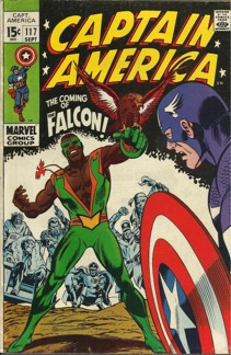 Captain America (1968 1st Series) #117  (1st appearance of the Falcon)