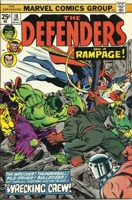 Defenders (1972 1st Series) #018