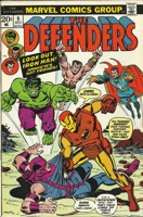 Defenders (1972 1st Series) #009