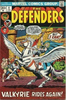 Defenders (1972 1st Series) #004