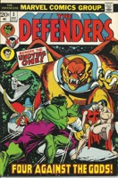 Defenders (1972 1st Series) #003