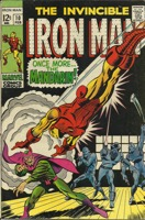 Iron Man (1968 1st Series) #010