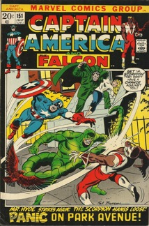 Captain America (1968 1st Series) #151