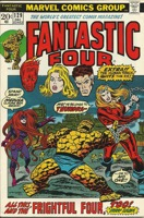 Fantastic Four (1961 1st Series) #129 1st app.of Thundra