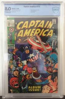 Captain America (1968 1st Series) #112