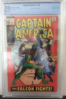 Captain America (1968 1st Series) #118
