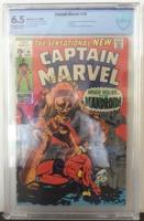 Captain Marvel (1968 1st Series Marvel) #18