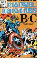 Official Handbook of the Marvel Universe (1983-1984 Marvel) #02