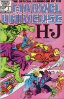 Official Handbook of the Marvel Universe (1983-1984 Marvel) #05