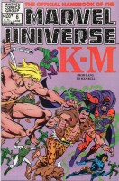 Official Handbook of the Marvel Universe (1983-1984 Marvel) #06