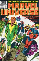 Official Handbook of the Marvel Universe (1983-1984 Marvel) #13