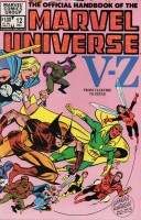 Official Handbook of the Marvel Universe (1983-1984 Marvel) #12