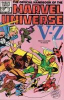 Official Handbook of the Marvel Universe (1983-1984 Marvel) #12