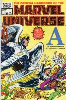 Official Handbook of the Marvel Universe (1983-1984 Marvel) #01