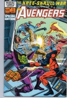 Kree-Skrull War Starring the Avengers (1983) #1