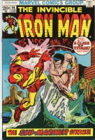 Iron Man (1968 1st Series) #054 1st appearance of Moondragon as Madame MacEvil