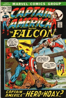 Captain America (1968 1st Series) #153
