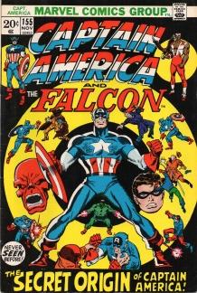 Captain America (1968 1st Series) #155