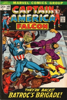 Captain America (1968 1st Series) #149