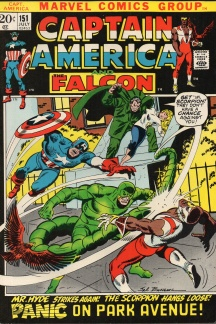 Captain America (1968 1st Series) #151
