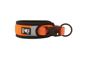 Hurtta Dazzle fasta halsband - Orange 35-45 cm