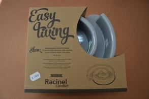 Racinel labyrint matskål - Grå