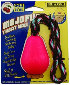 Mojo Fling Treat Ball M - Rosa M
