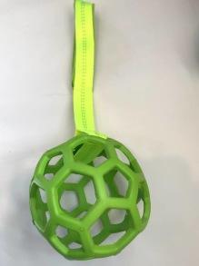 Nätboll med handtag L - Grön