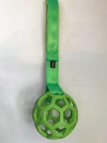 Nätboll med handtag M - Grön