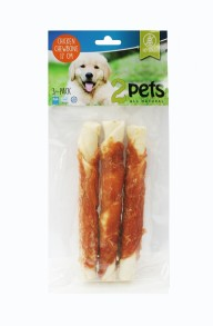2Pets Kyckling 12,5cm 3-pack -