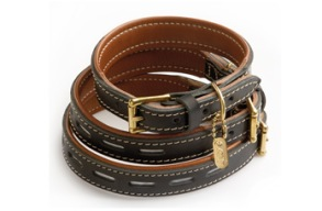 Hurtta Reflex Leather Classics - 30mm x 30cm