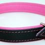 Baggen Neo halsband - Rosa 56cm