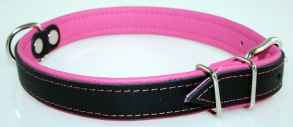 Baggen Neo halsband - Rosa 52cm