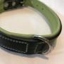 Eckers Halsband - Svart/Grön 45cm