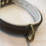 Eckers Halsband - Brun/Vit 50cm