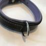 Eckers Halsband - Svart/Lila 45cm